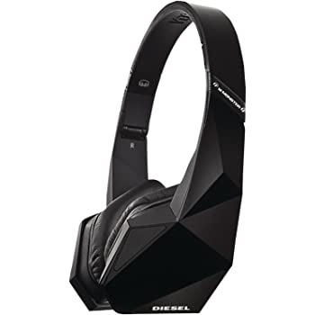 Diesel Vektr by Monster On-Ear Headphones with ControlTalk (Black)