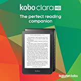 Kobo N249-KU-BK-K-EP Czytnik E-Booków, Czarny, 8 GB
