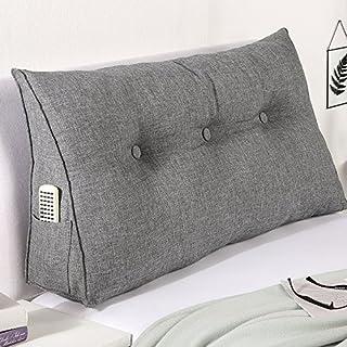 aktivshop Bett-Rückenstütze Keilform Rückenlehne für Bett & Sofa, 100 cm breit, grau