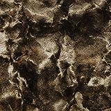 Telas de la felpa de peluche suave - Shannon conejo marrón - 50 cm x 50 cm
