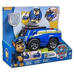 Patrulla Canina - Vehículo transformable con sonido Chase (Bizak 61926603)