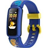 BIGGERFIVE Pulsera Actividad Inteligente Reloj Inteligente para Niños Niñas Mujer, Impermeable IP68 Smartwatch con Podómetro