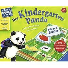 Der Kindergarten-Panda: 5-Minuten-Spiele ab 3 Jahren (Spielend Neues Lernen)