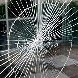 Kratzfeste Splitterschutzfolie  Meter Einbruchschutz Fensterfolie  1,52 x 30