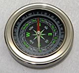 Anz Discovery Stainless Steel Directional Magnetic Compass Cum Kids Learning Resource (Black)