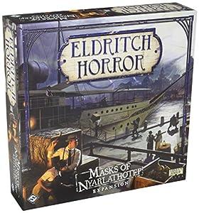 Fantasy Flight Games FFGEH09 - Máscara de Nyarlathotep: Eldritch Horror Exp
