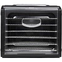 Déshydrateur alimentaire horizontal, 6 étagères en acier sans BPA lavables au lave-vaisselle. Déshydrateur pour fruits…
