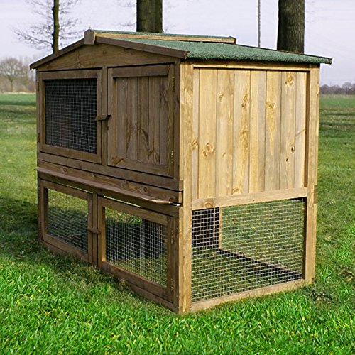 Stall Nr 2 Kaninchenstall Hasenstall Kaninchenkäfig Hasenkäfig Meerschweinchenstall - 2