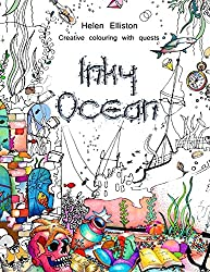 Inky Ocean: Creative colouring with quests: Volume 1 (Inky Colouring books)