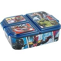Theonoi Boîte à sandwich pour enfant Avengers Mickey - Paw en plastique sans BPA - Cadeau idéal pour les enfants…