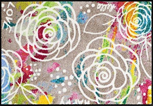 Salonloewe Fußmatte waschbar Blossom Carpet 050x075 cm
