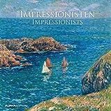 Impressionisten 2016 - Impressionists - Broschürenkalender (30 x 60 geöffnet) - Kunstkalender - Wandplaner