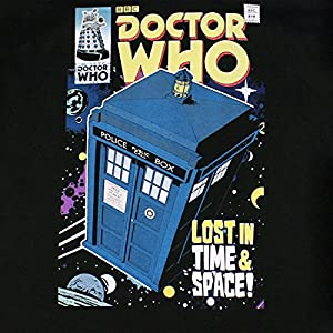 Doctor Who Mens Dr Who Tardis T-Shirt Sizes Small to XXLarge