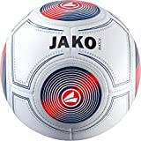 JAKO Trainingsball Match Ball, weiß/Marine/Flame, 3