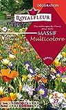 Royalfleur PFRF08354 Graines de Mélange de Fleurs mon Massif Multicolore 25 m²