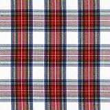 Fabulous Fabrics Schottenkaro Classic 3 — Meterware ab 0,5m — zum Nähen von Hemden, Blazern und Hosen