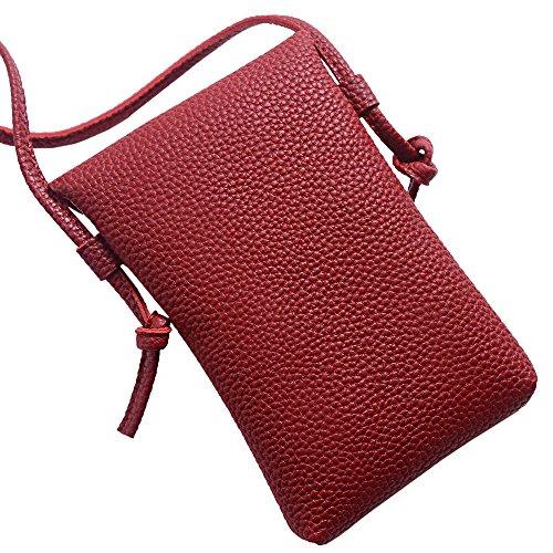 Bag Salon-UK cartelle, Black (nero) - L302 Red