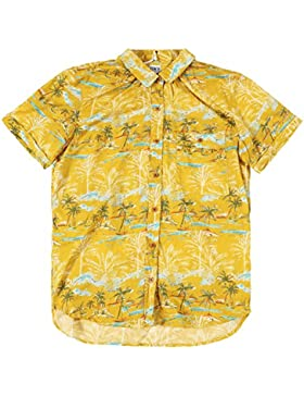 Edwin Womens Mustard Hawaiian Shirt