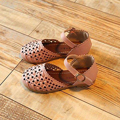 BZLine® Summer Girls Sandalen Kids Mädchen Sandalen Kinder Casual Flat shoes Pink