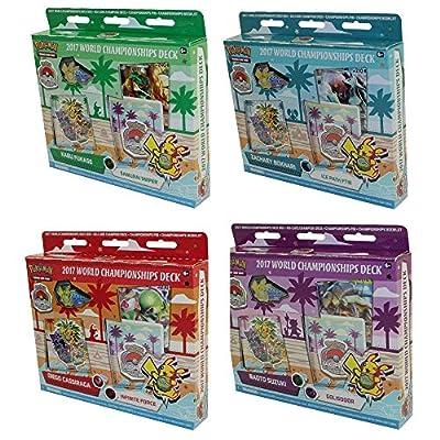 Pokémon TCG: mazos de campeonato mundial 2017 juego de 4 mazo de cartas para debutante por Pokémon