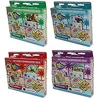 Pokémon TCG: mazos de campeonato mundial 2017 juego de 4 mazo de cartas para debutante