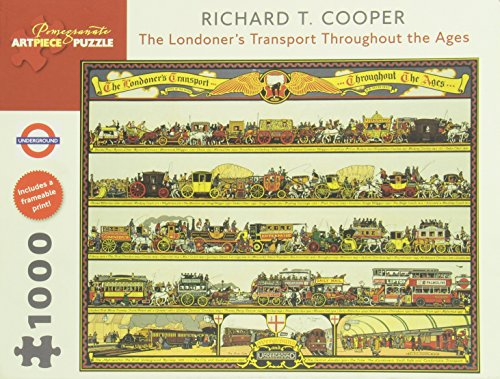 The Londoners Transport Througout the Ages: 1,000 Piece Puzzle