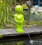 Ubbink BOY IV Wasserspeier Teichfigur Grün 67cm