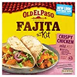 Old El Paso Mexican Oven Baked Crispy Chicken Fajita Kit, 555g