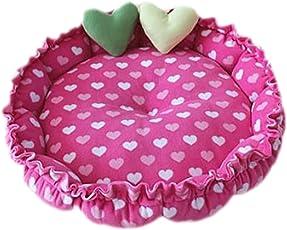 Monbedos Cuccia lavabile Pet Nest cuscino per cani di piccola taglia e gatti (random Mode)