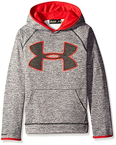 Under Armour AF Storm Twist Highlight Hdy Sweat Garçon, Noir, FR : YLG (Taille Fabricant : YLG)
