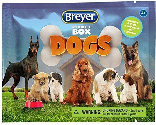 Breyer Horse Crazy Pocket Box - Caja de Juguete para Perros (48...