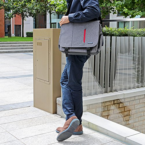 Laptoptasche  Snugg grau 17 Zoll - 9