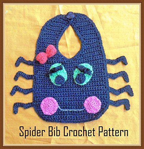 Spider Bib Crochet Pattern (English Edition) -