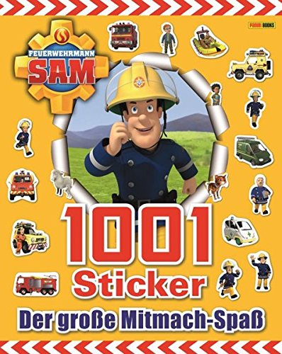feuerwehrmann sam sticker Feuerwehrmann Sam 1001 Sticker: Der große Mitmach-Spaß