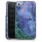 DeinDesign Coque Compatible avec Apple iPhone 3Gs Étui Housse marbre UtArt Pierres précieuses