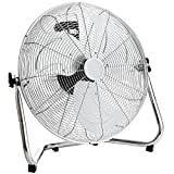 Oypla Electrical 18″ Chrome 3 Speed Free Standing Gym Fan