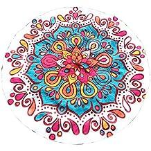 ... bañadores el corte ingles. Kinlene Impresión Redonda Hippie Tapicería Playa Picnic Throw Yoga Mat Toalla Manta