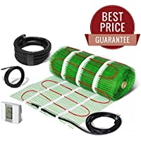 Alfombrilla de calefacción eléctrica para suelo radiante, autoadhesiva, 200 W/m²