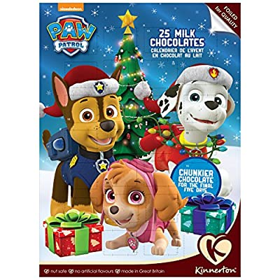 Kinnerton - Paw Patrol Milk Chocolate Advent Calendar - 90g por Kinnerton