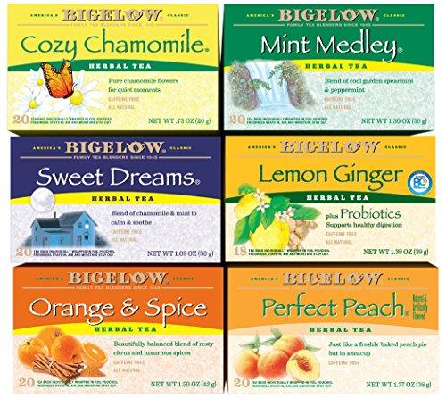 Bigelow Mixed Herb Teas, 120 Count