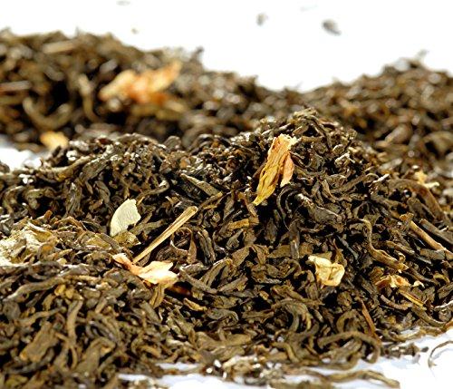 Quertee Grüner Tee – China Jasmin Tee mit extra vielen Blüten – 250 g, 1er Pack (1 x 250 g)