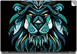 Lion Colorful Tribal Tattoo Art High Quality printed Laptop skins | Laptop decals | Laptop Stickers | Skin Stickers for Apple , HP , Lenovo , Sony , Dell , Acer , Asus , Compaq , Toshiba Laptops for 15.6 inch screen size.`