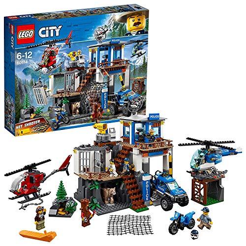 LEGO City Police - Montaña: Comisaría policía 60174