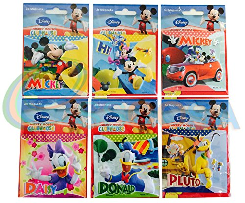 Disney 3D Magnets Mickey Mouse Clubhouse