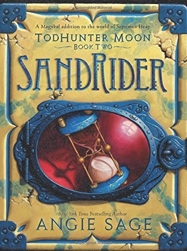 Portada del libro TodHunter Moon, Book Two: SandRider (World of Septimus Heap) by Angie Sage (2015-10-13)