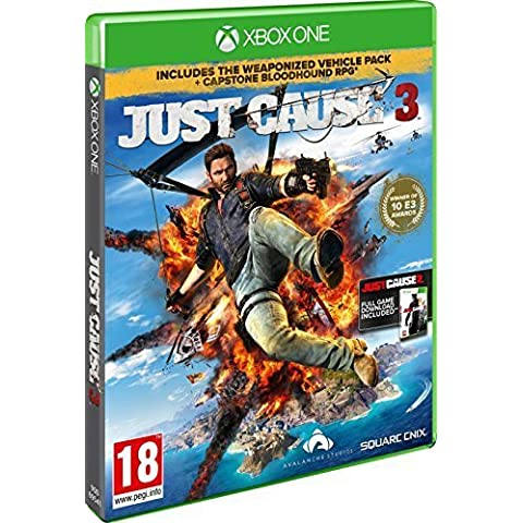 Just Cause 3 - Day 1 Rocket Launcher Edition with Capstone Bloodhound RPG (Xbox One) by Square Enix