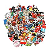 Baybuy Random Sticker 50-500pcs Variety Vinyl Car Sticker Motorcycle Bicycle Luggage Decal Graffiti Patches Skateboard Stickers for Laptop Stickers (150pcs)