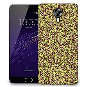 Snoogg Happy Faces Designer Protective Phone Back Case Cover For Meizu M2
