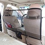 Auto Haustier Barriere, Hunde und Katzen Beschützer Auto Auto Pet Guard Net Keep Self Safe, 45inch * 25inch, schwarz