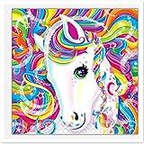 DIY 5d Diamant Gemälde komplett-Set, Dbg Motiv Pferd Glaskristall-Bild Kunst Handwerk Geschenk B